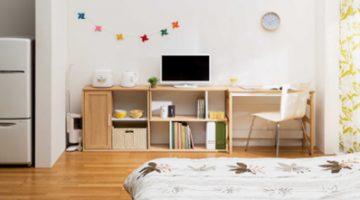 一人暮らしにも必要な勉強机。集中できるスペースを作ろう!