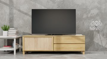リビングのイメージを変える、テレビボードの選び方