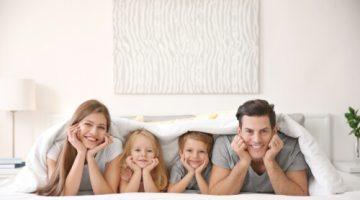 家族4人で寝ることができるファミリーベッドを探そう!