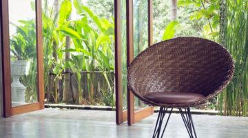 夏に向け籐家具を使った模様替えで、南国気分を楽しみましょう